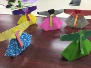 折り紙で折るチマ・チョゴリ