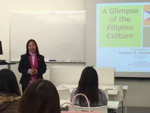 フィリピン文化の講義