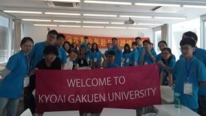 中国語インテンシブの学生との交流