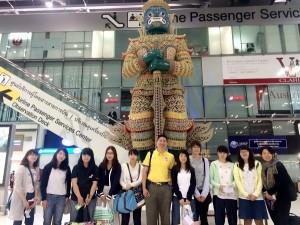 タイの空港にて