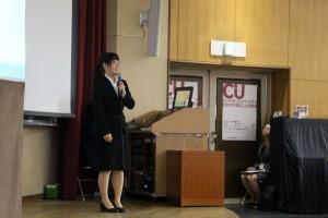 学生発表「海外ティーチング研修」