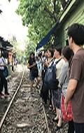 スラム街の線路
