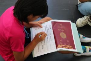 パスポート準備をして、いざ出発