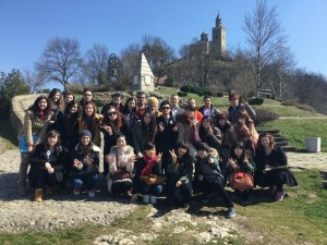 タルノヴォ大学生と小旅行